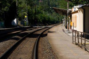 Trať 170 (171) Praha - Černošice. Pramen: Správa železnic