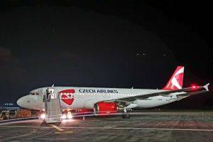 Airbus A320 Českých aerolinií registrace OK-HEU. Foto: ČSA