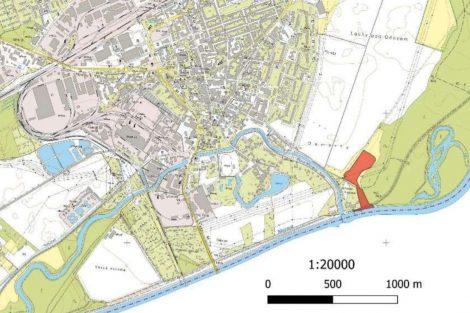 Do nového přístavu se bude vjíždět přímo z řeky Moravy. Pramen: ŘVC, dokumentace EIA