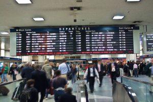 Již bývalé prostory Amtraku na Penn Station. Foto: Amtrak