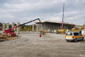 Stavba D48 okolo Frýdku-Místku. Foto: ŘSD