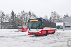 Autobus Iveco Crossway v barvách Pražské integrované dopravy. Foto: PID