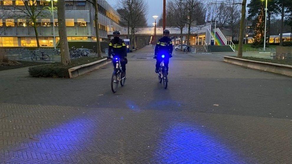 Policejní kola s majáčky. Foto: Politie.nl