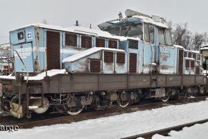 Elektrická lokomotiva ČD Cargo na prodej. Pramen: ČD Cargo