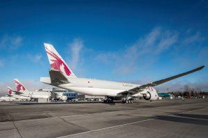 Boeing 777F v barvách Qatar Airways Cargo. Foto: Boeing