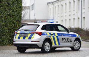 Škoda Scala v provedení pro českou policii. Foto: Škoda Auto