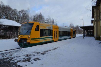 Stadler RS1 společnosti Die Länderbahn v Seifhennersdorfu. Foto: Michal Barták