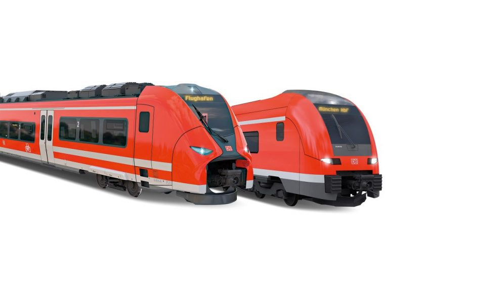 Siemens Mireo a Siemens Desiro HC pro DB Regio. Foto: Siemens