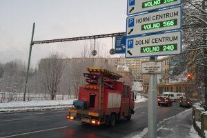 Křižovatka u bývalé Textilany v Jablonecké ulici. Foto: Jan Sůra / Zdopravy.cz