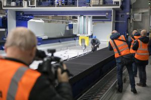 Nové obráběcí centrum v továrně Škoda Vagonka. Pramen: Škoda Transportation