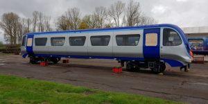 Skříň prototypu vozidla VLR. Foto: Eversholt Rail