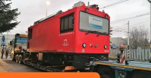 Nová lokomotiva pro provoz v Tatrách. Foto: ZSSK