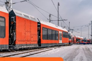 Nové elektrická jednotka od Stadleru pro provoz v Tatrách. Foto: ZSSK