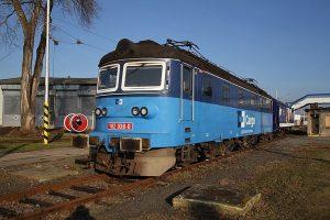 Lokomotiva řady 182 společnosti ČD Cargo. Foto: Wikimedia Commons