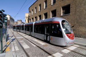 Tramvaj Sirio, ilustrační foto. Pramen: Hitachi Rail