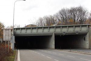 Husovický tunel v Brně (I/42). Autor: Harold – Vlastní dílo, CC BY-SA 3.0, https://commons.wikimedia.org/w/index.php?curid=12387492