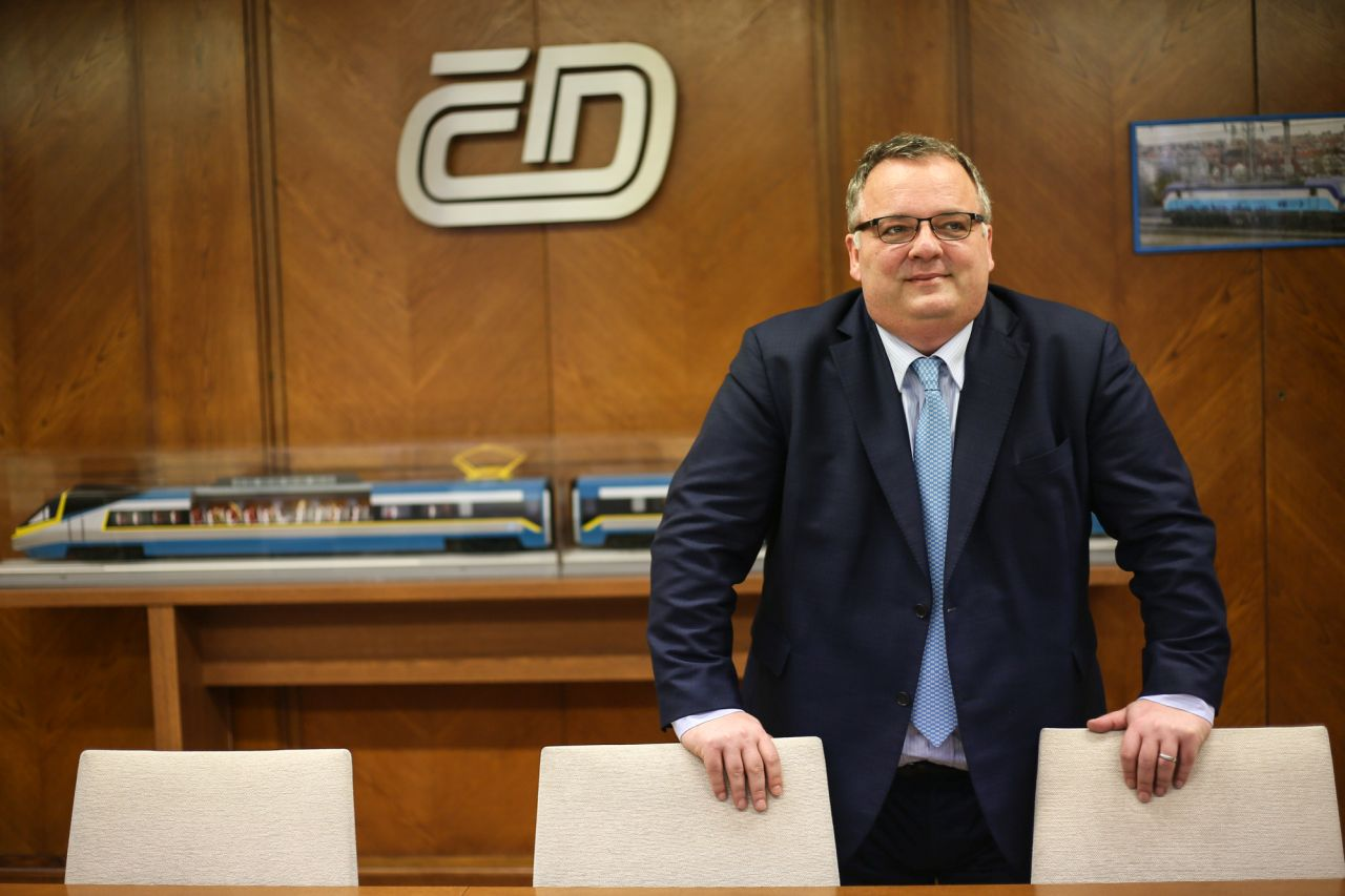 Ivan Bednárik. Foto: Jan Chaloupka/ České dráhy