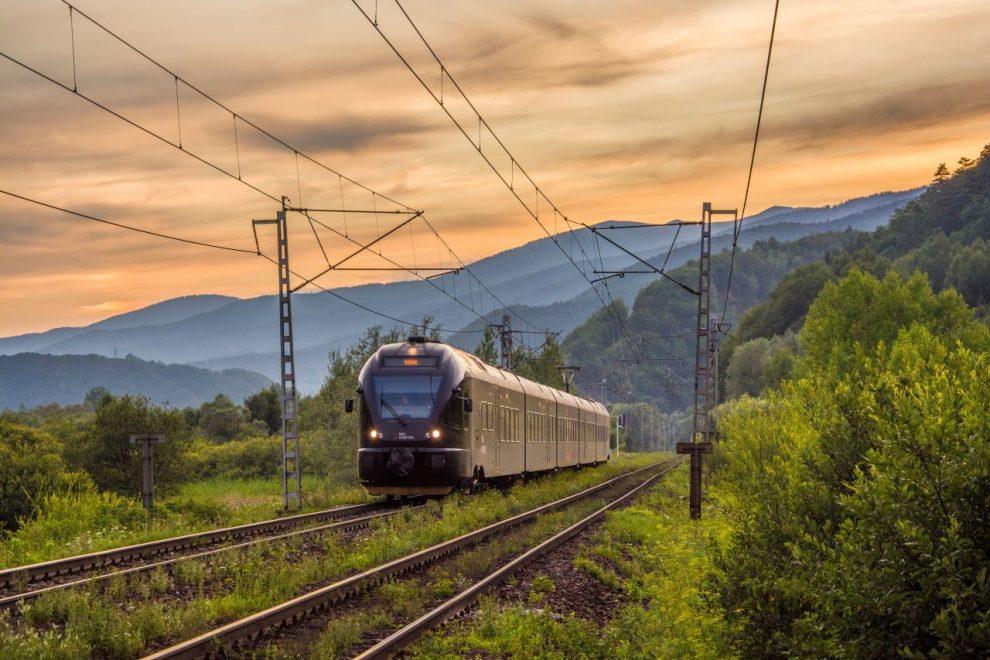 Jednotka Stadler Flirt společnosti Leo Express na Slovensku. Foto: LE