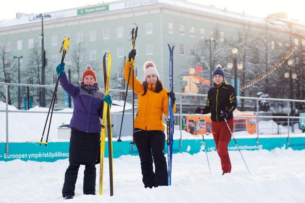 Běžky v Lahti. Pramen: City Skis