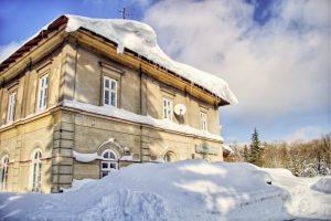Nádraží Moldava v Krušných horách. Autor: Jiří Škaloud