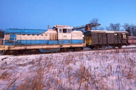 Hytlák jako sauna a lokomotiva Faur. Autor: Martin Zavadil
