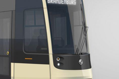 Vizualizace nové tramvaje pro Brandenburg an der Havel. Foto: Škoda Transportation