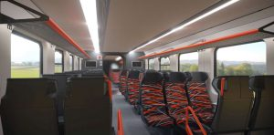Vizualizace nových elektrických jednotek pro Estonské dráhy. Foto: Škoda Transportation