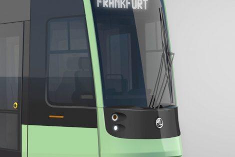 Vizualizace nové tramvaje pro Frankfurt nad Odrou. Foto: Škoda Transportation