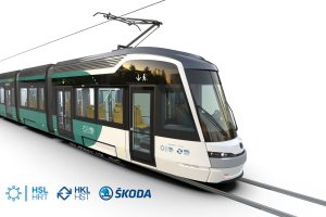 Tramvaj ForCity Smart Artic X54. Pramen: Škoda Transportation