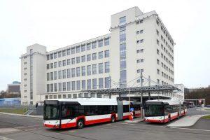 Trolejbusy 27 Tr. Foto: Škoda Electric