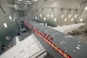 Airbus A220-300 Air Canada v barvách Trans-Canada Air Lines. Foto: Air Canada