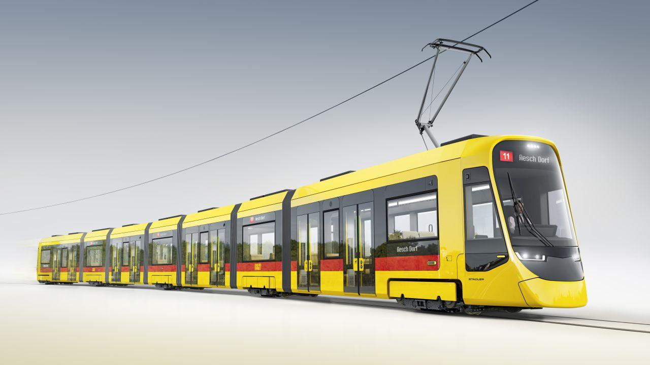 Nové tramvaje pro Basilej. Foto: Stadler Rail