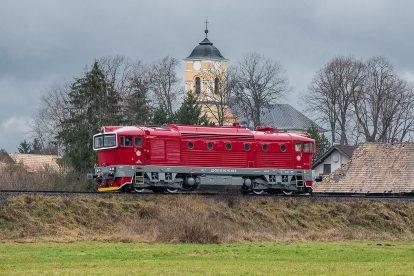 Lokomotiva 750.338 společnosti ČD Cargo. Foto: Rado Mojžíš