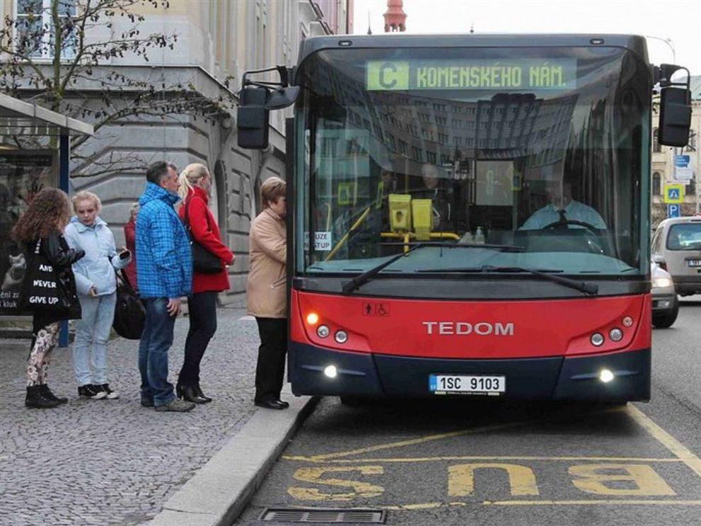 Autobus MHD v Mladé Boleslavi. Foto: DP Mladá Boleslav