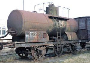 Cisterna z roku 1881. Pramen: NTM
