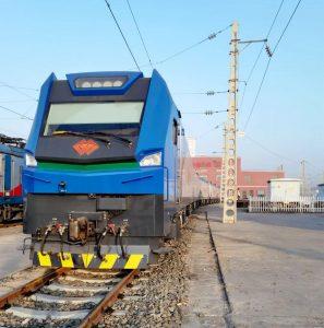 Lokomotiva Shen 24. Foto: CRRC Zhuzhou