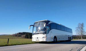 Autobus Mercedes-Benz společnosti Enjoy Europe. Foto: Enjoy Europe