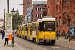 Tramvaj KT4DM v Berlíně. Foto: Michal Chrást