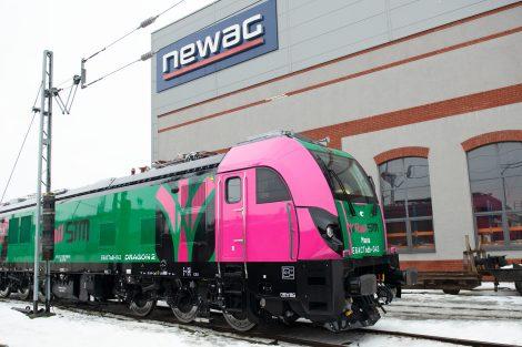 Lokomotiva Dragon 2 pro dopravce Rail STM. Foto: Newag