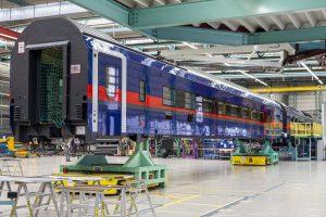 Nové vozy pro Nightjet. Foto: Siemens