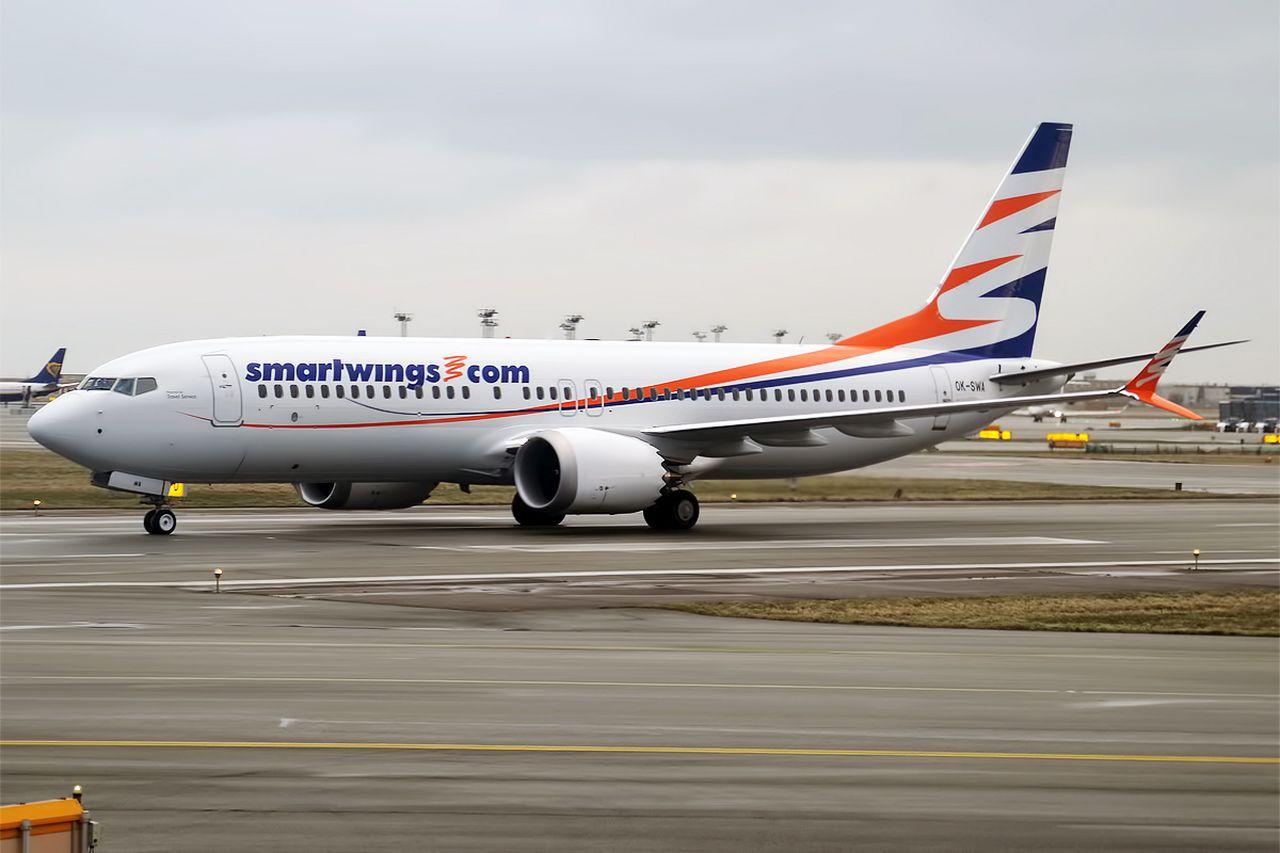 Boein 737 MAX 8 registrace OK-SWA společnost Smartwings. Foto: Anna Zvereva / Flickr.com