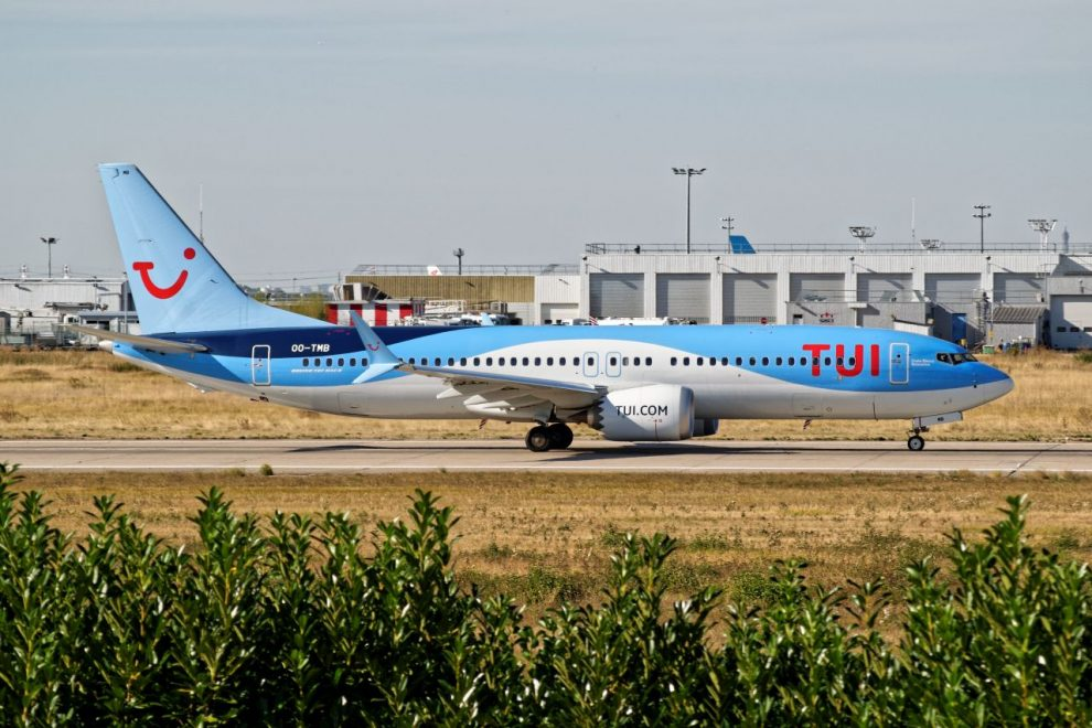 Boeing 737 MAX 8 TUI fly Belgium. Foto: Dylan Agbagni