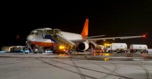 Airbus A330-200 PTF společnosti Maleth Aero v Ostravě. Foto: Letiště Ostrava