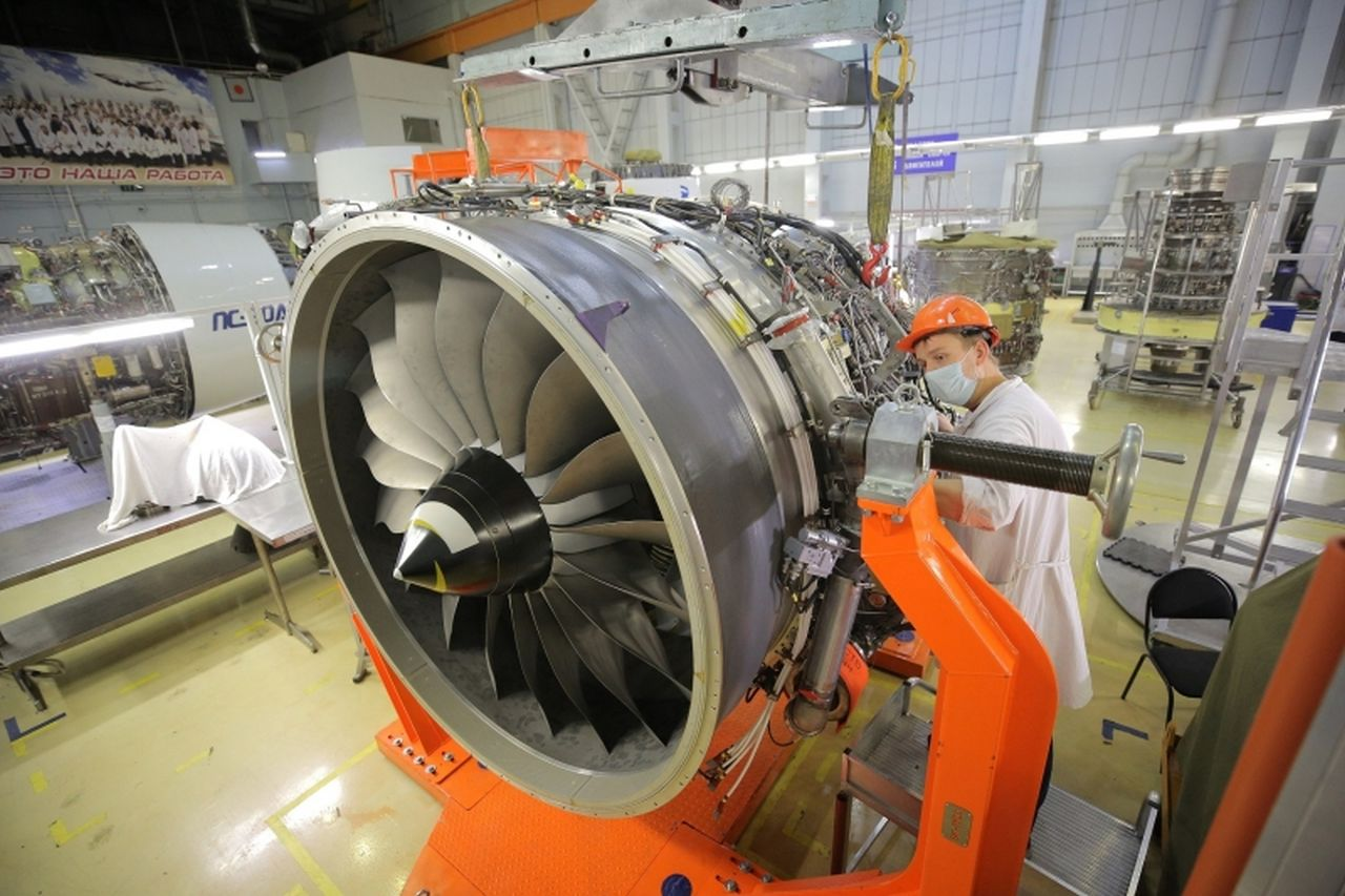 Nový motor PD-14. Foto: UEC Perm