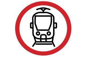 Symbol aplikace Pozor tramvaj! Pramen: DPP