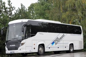 Scania Touring v barvách Data Autotrans