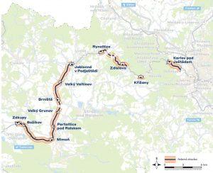 Úpravy tratě 086 Liberec - Česká Lípa. Foto: Správa železnic