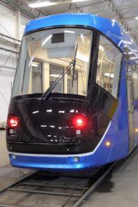 Vratislavská tramvaj 16T po modernizaci. Pramen: FB MPK Wroclaw