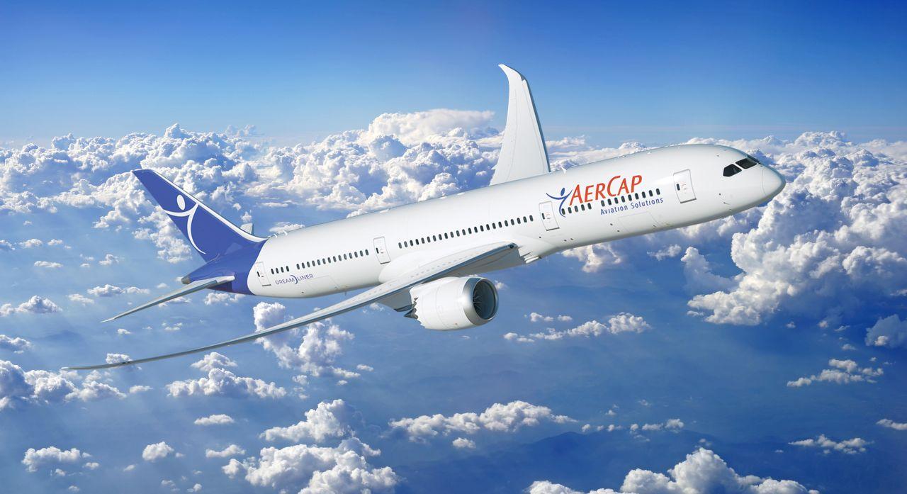 Boeing 787-9 v barvách leasingové společnosti AerCap. Foto: AerCap
