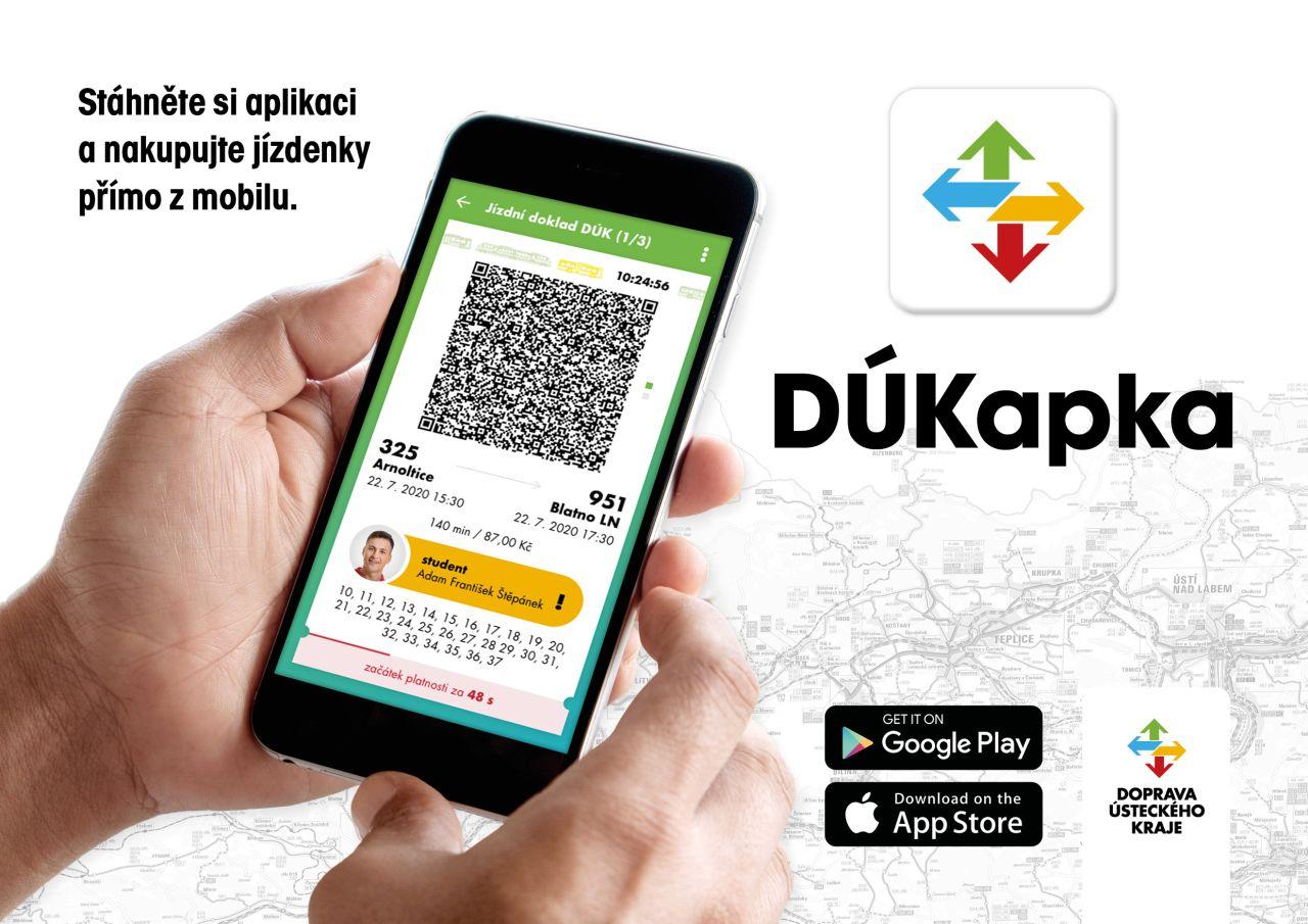 Informační leták k aplikaci DÚKapka